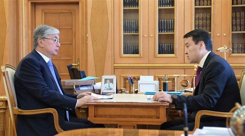 Касым-Жомарт Токаев принял первого заместителя Премьер-министра