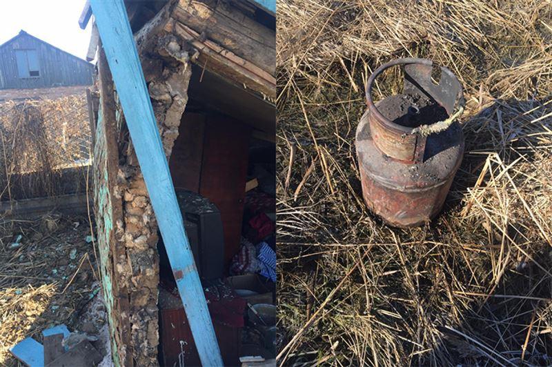 Петропавлда жер үйлердің бірінде газ жарылды