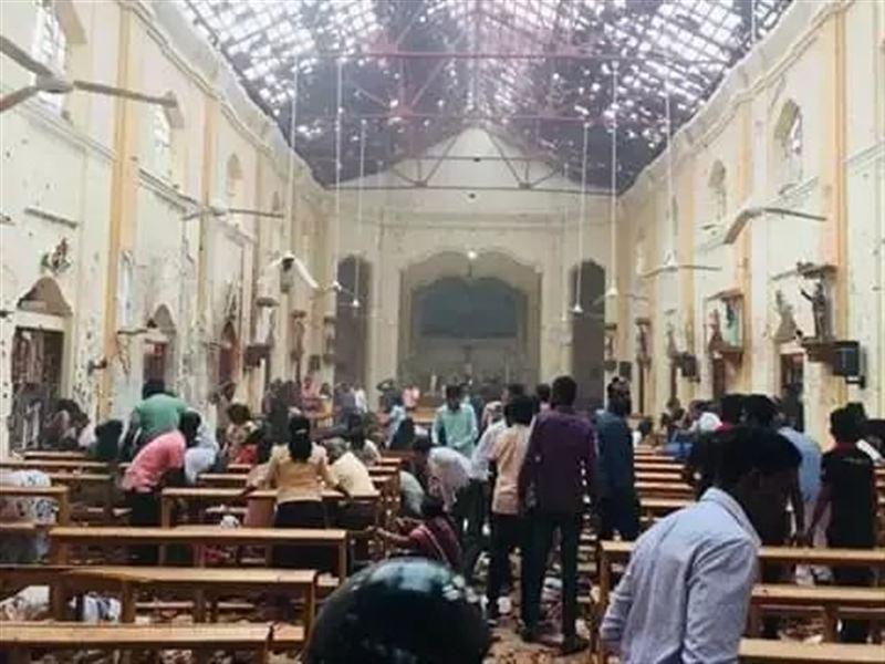 Шри-Ланкада жойқын жарылыстан 160 адам қаза тапты