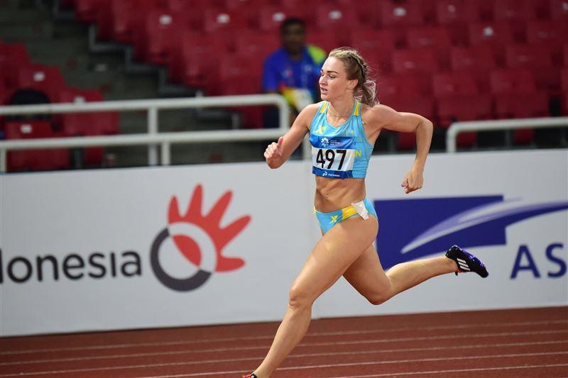 Элина Михина жеңіл атлетикадан Азия чемпионатында күміс алды