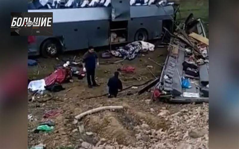 Большие новости - Автокатастрофа в Жамбылской области: новые подробности с места трагедии в «Больших новостях»