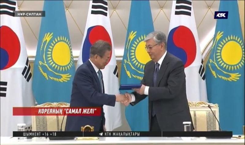 Тоқаев Корея президентіне ерекше сый тарту етті