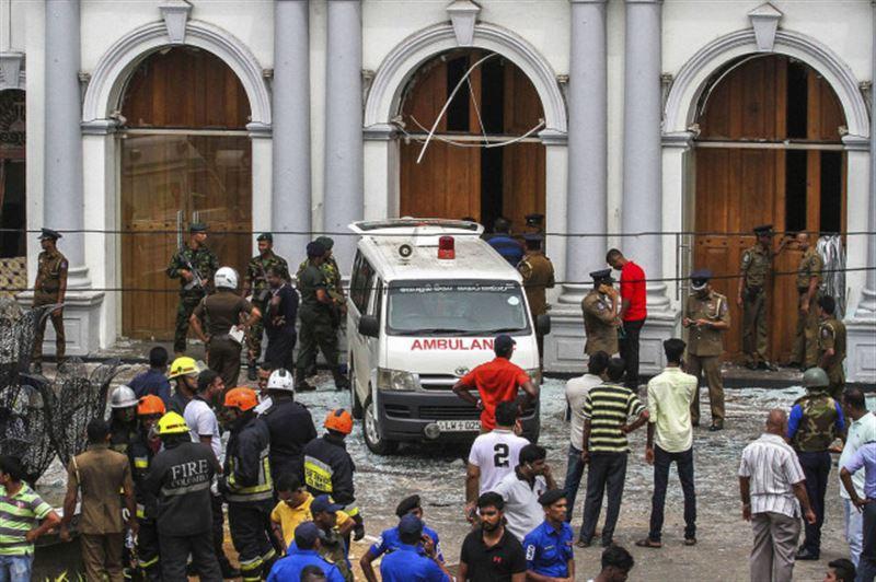 Новый взрыв прогремел у церкви на Шри-Ланке
