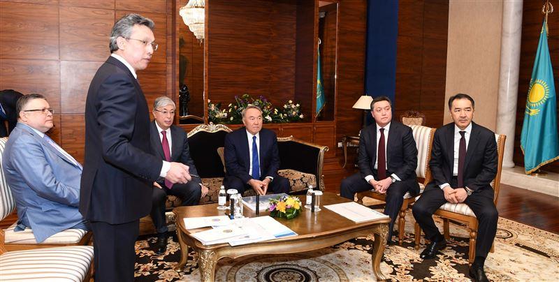 Елбасы Нурсултану Назарбаеву рассказали о дальнейшем развитии столицы