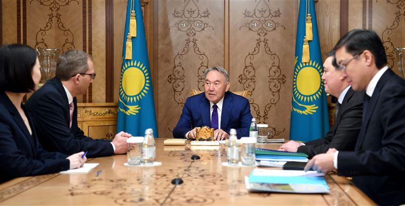 Елбасы Нурсултан Назарбаев принял председателя правления компании «ALSTOM»