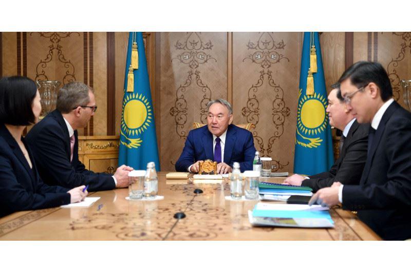 Нұрсұлтан Назарбаев «ALSTOM» компаниясының басшысын қабылдады