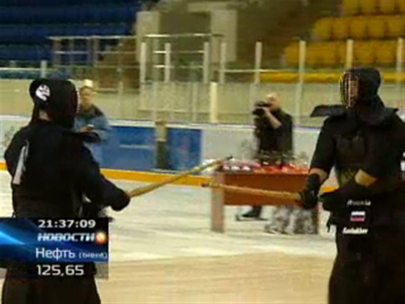 В Алматы прошел международный турнир по кендо