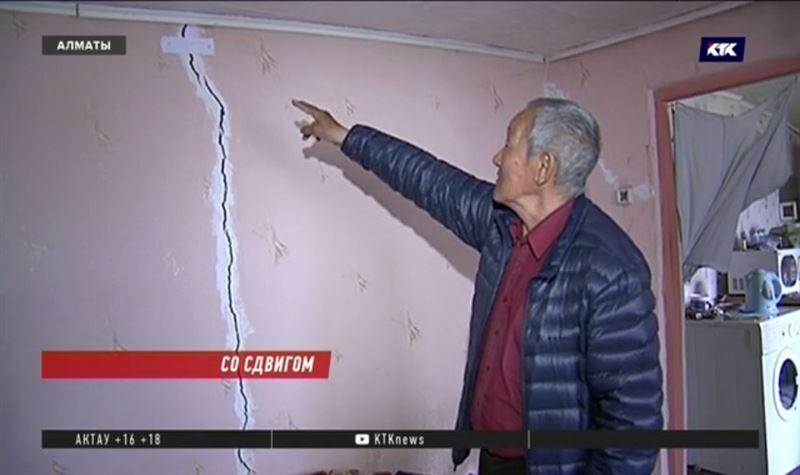 Алматинцы, живущие в предгорьях, боятся стать бездомными