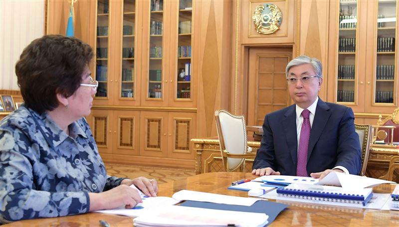 Президент Казахстана принял министра образования и науки