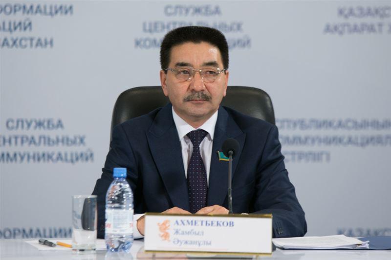 Жамбыл Ахметбеков президенттік сайлауға кандидат ретінде бекітілді