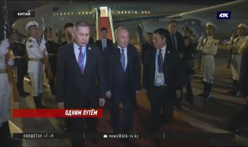 Назарбаев напомнил в Пекине о выгодном расположении Казахстана
