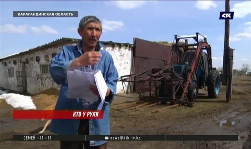 Трактор стал предметом судебного спора между депутатом и жителем села