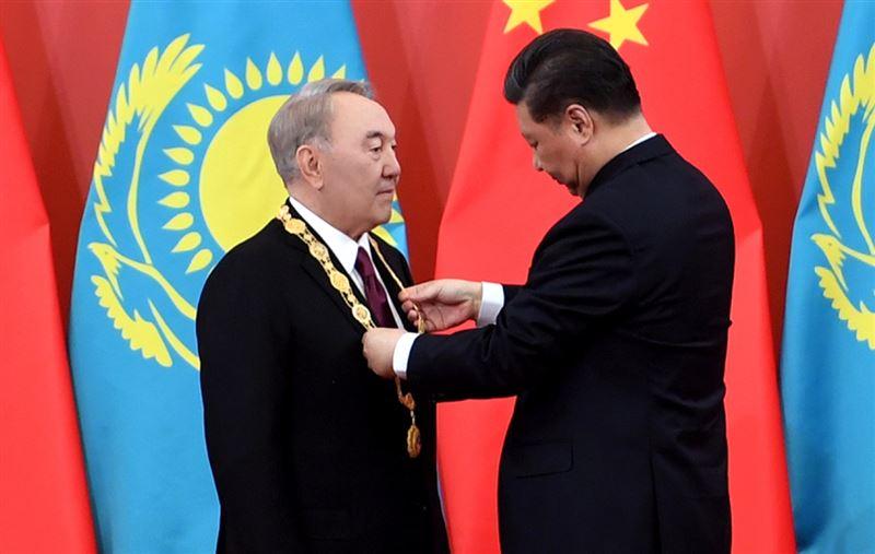 Назарбаев награжден Орденом Дружбы Китайской Народной Республики