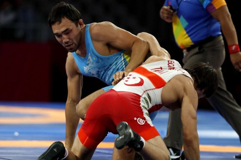Азия чемпионатында Грек-рим күресінен 7 медаль жеңіп алдық