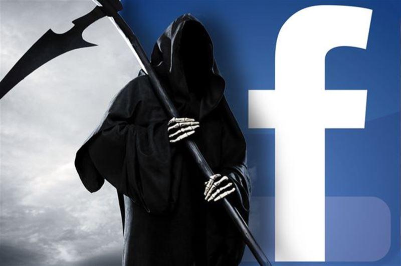 Через полвека мертвых в Facebook станет больше, чем живых