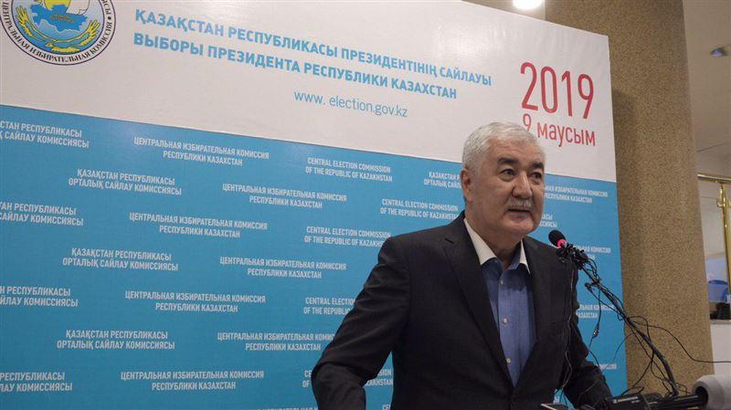 ЦИК: Амиржан Косанов соответствует требованиям Конституции