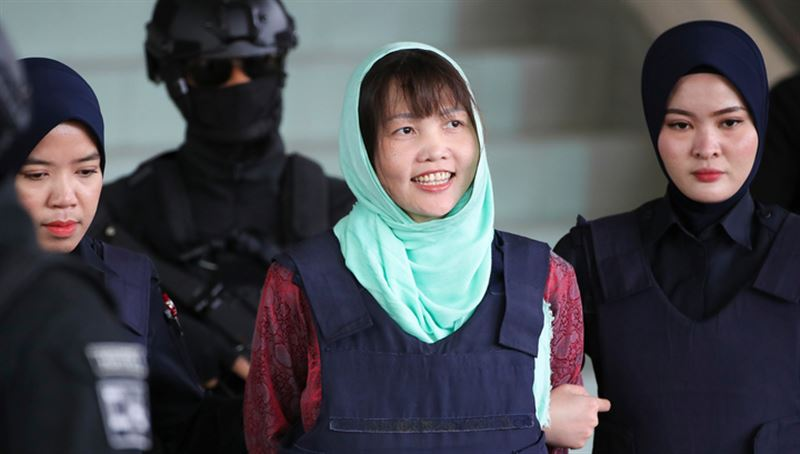 Суд освободил подозреваемую в убийстве брата Ким Чен Ына