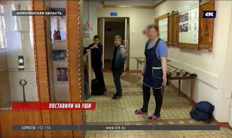 Школьную уборщицу обвиняют в рукоприкладстве