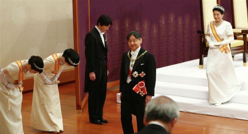 Новый император Японии впервые обратился к народу
