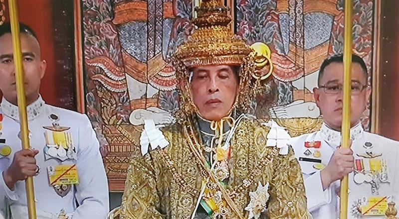 Король Таиланда Рама Х официально коронован