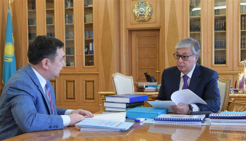 Президент осмотрел ходподготовки кфоруму подэгидой ЮНЕСКО вНур-Султане