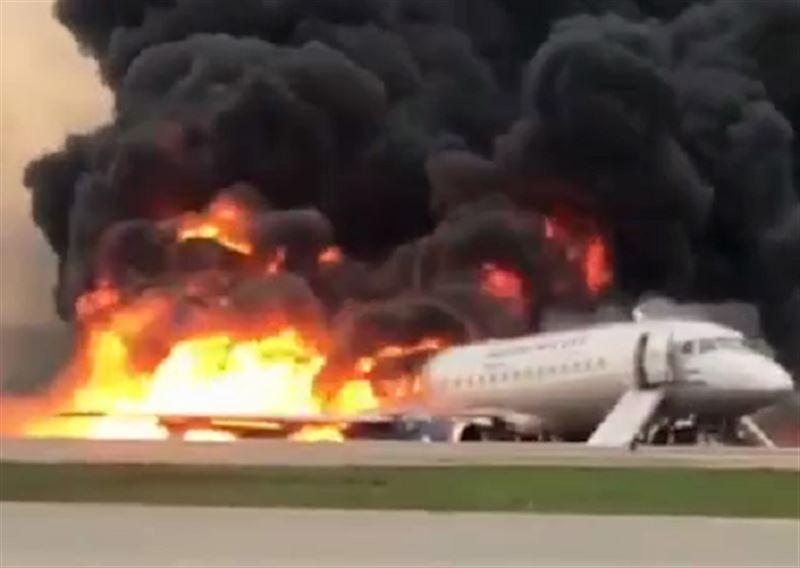 СК подтвердил гибель 13 человек в результате жесткой посадки SSJ-100 в Шереметьево