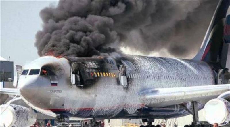 СК: в сгоревшем самолете погиб 41 человек