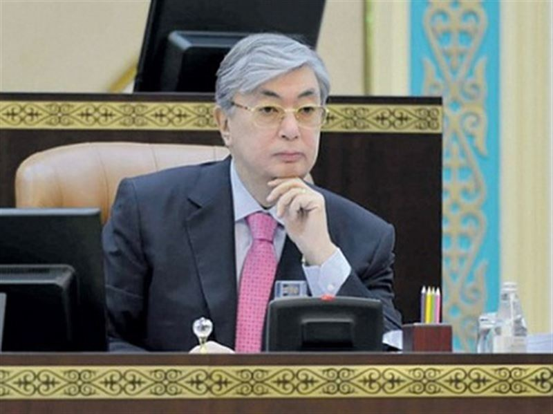 Касым-Жомарт Токаев выразил соболезнования главе Российской Федерации Владимиру Путину
