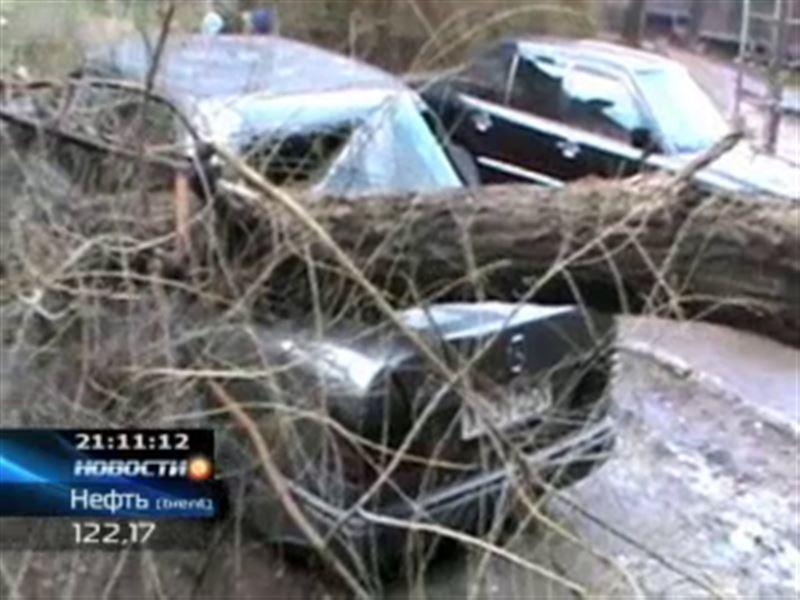 В Шымкенте устраняют последствия сильного урагана
