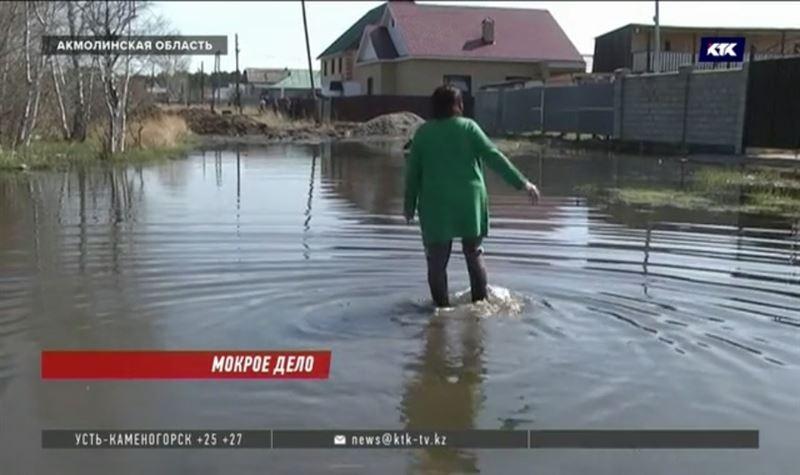 Курортный посёлок Боровое топит зловонная вода