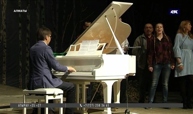 Белый рояль – подарок ТЮЗу от Дариги Назарбаевой