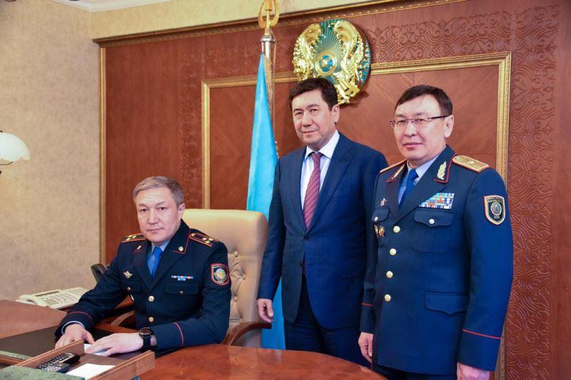 Қарағанды облыстық Полиция департаментіне жаңа басшы тағайындалды
