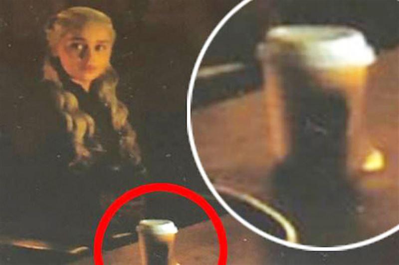Кофейный стаканчик исчез из последней серии «Игры престолов»