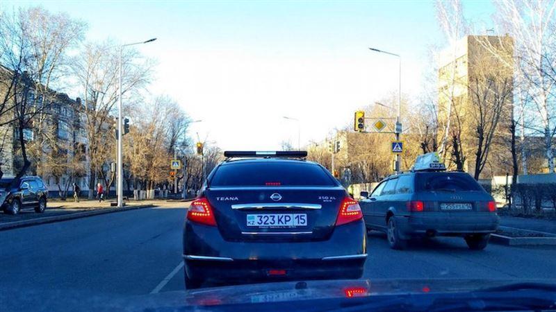 Аким СКО накажет полицейского за тонировку автомобиля