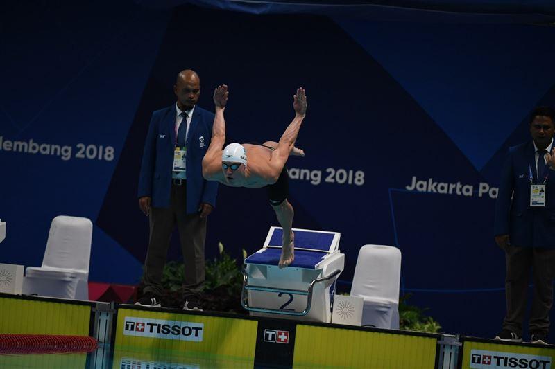 Дмитрий Баландин завоевал «бронзу» на втором этапе Champions Swim Series