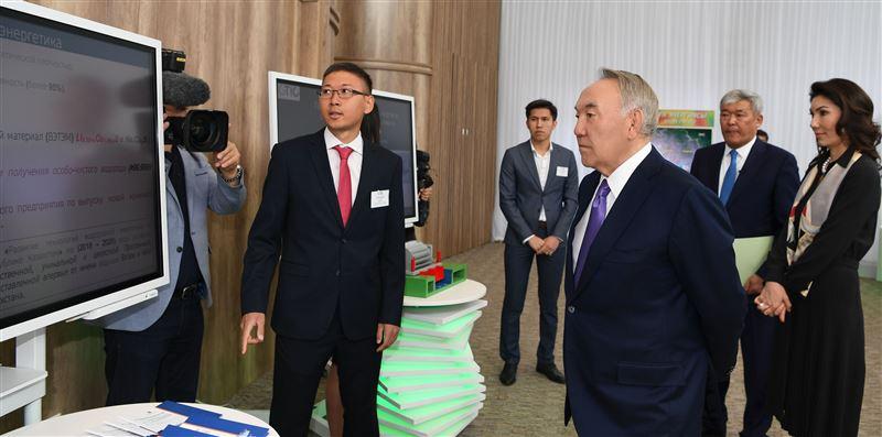 Елбасы посетил Международный центр зеленых технологий