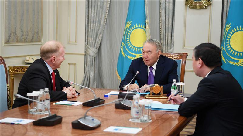 Елбасы Нурсултан Назарбаев принял Чрезвычайного и Полномочного посла США