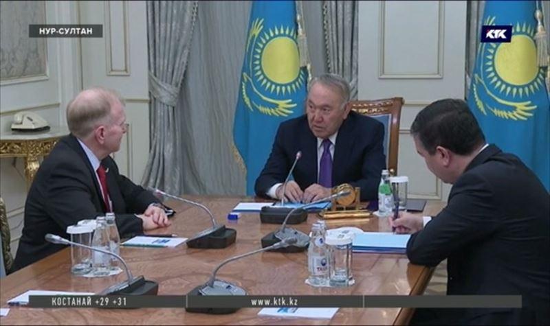 Нурсултан Назарбаев получил письмо со словами поддержки от Дональда Трампа