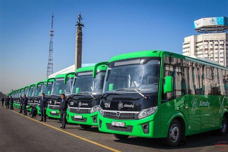 Алматыда барлық бағыттағы автобус және метрода жол жүру тегін болады