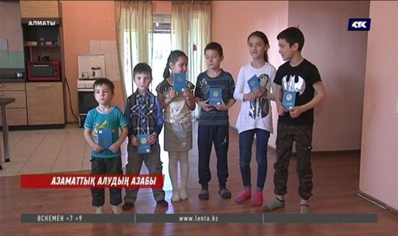 Қазақ жігітінен 8 бала тапқан украин әйел Қазақстан азаматтығын аңсап жүр