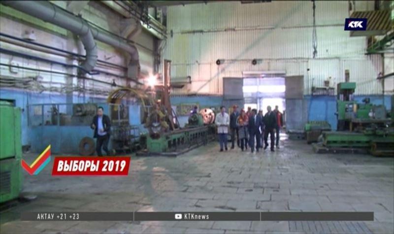 Коммунисты посетили машиностроительные цеха Степногорска
