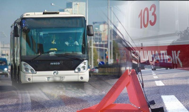 Оралда екі автобус соқтығысып, 11 адам зардап шекті
