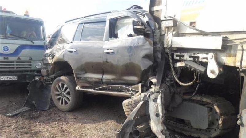 Ақмола облысы әкімінің орынбасары көз жұмған жол апатының видеосы жарияланды