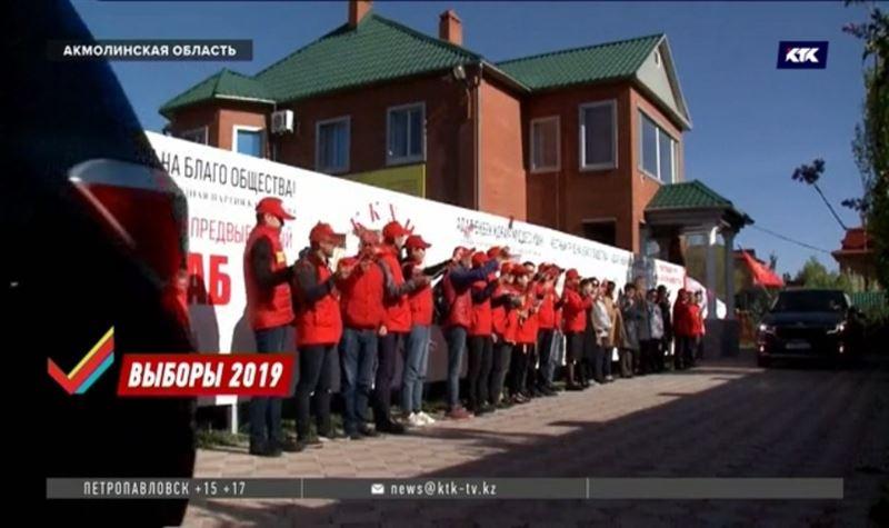 Жамбыл Ахметбеков посетил малую родину
