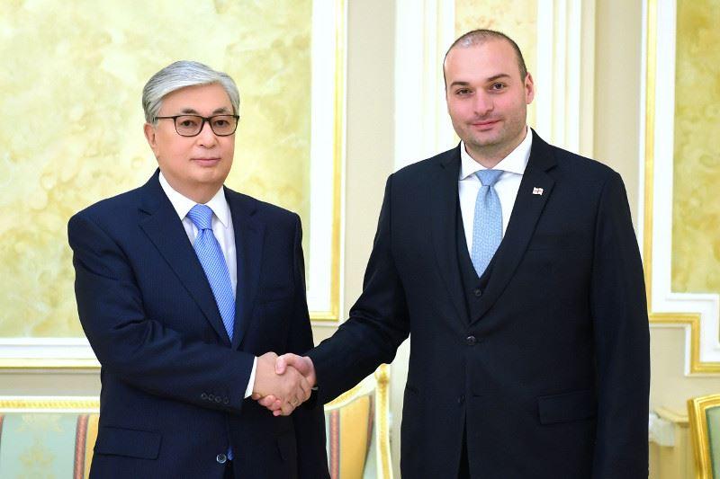 Тоқаев Грузияның Премьер-Министрімен кездесті