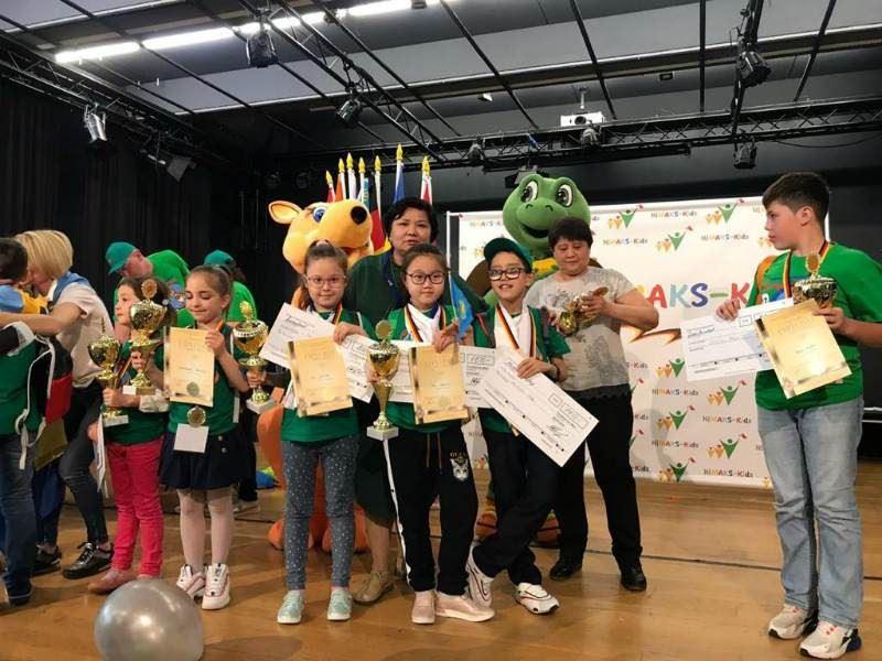 Зағип оқушы ментальді арифметикадан халықаралық олимпиадада жеңіске жетті