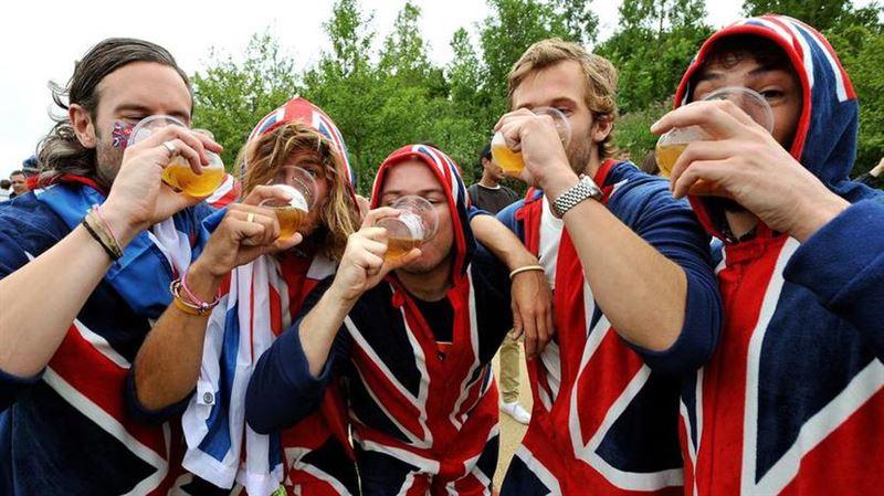 Британцы напиваются чаще остальных в мире
