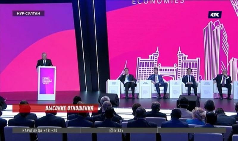 Назарбаев готов мирить США и Россию