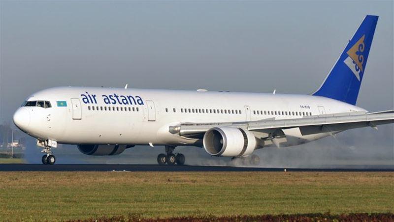 «Air Astana» ұшағы апаттық жағдайда Ресей әуежайына қонды