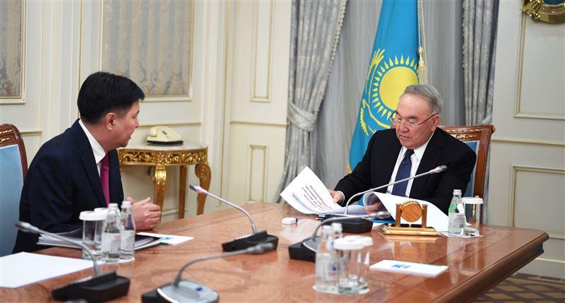Елбасы Нурсултан Назарбаев принял председателя Верховного суда